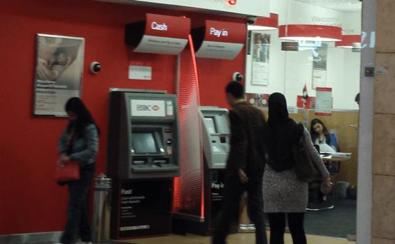 An ATM in Dubai