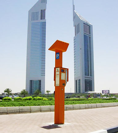 Parking Meter in Dubai