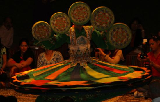 tanoura-dance performance in Dubai
